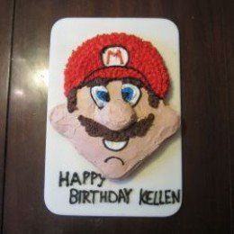 Make a fabulous Super Mario birthday cake!  Get easy step-by-step instructions with pictures for a no-fail Mario cake!