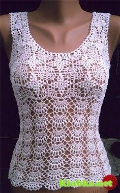 Free Crochet Patterns Japanese Style : Crochet top pattern diagrams pattern pdf Russian crochet ...