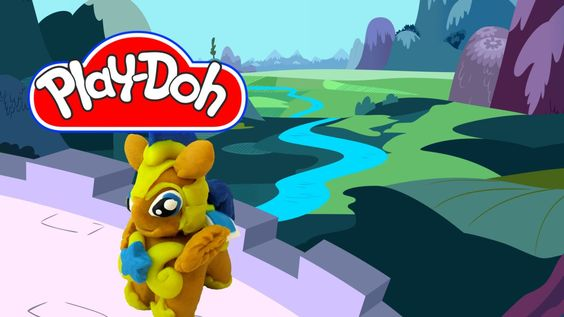 How to make Play Doh Flash Sentry My Little Pony