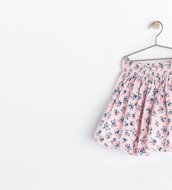 Image 1 of FLORAL SKIRT from Zara