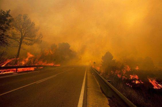 Incendios en Valencia