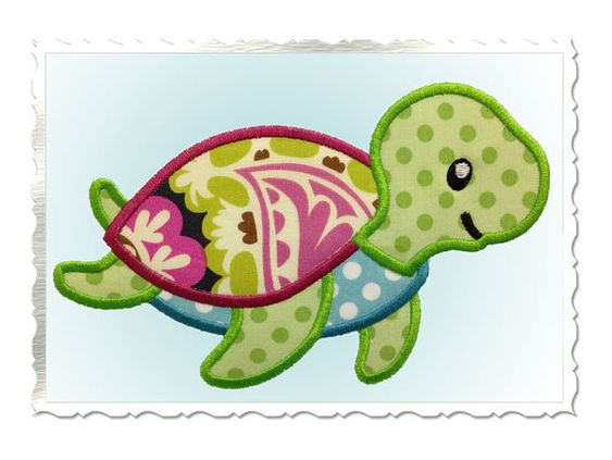 Hey, I found this really awesome Etsy listing at http://www.etsy.com/listing/130706922/cute-sea-turtle-applique-machine
