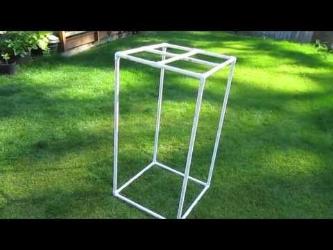 Building a Grow Tent with PVC (Part 1) - YouTube                                                                                                                                                      More