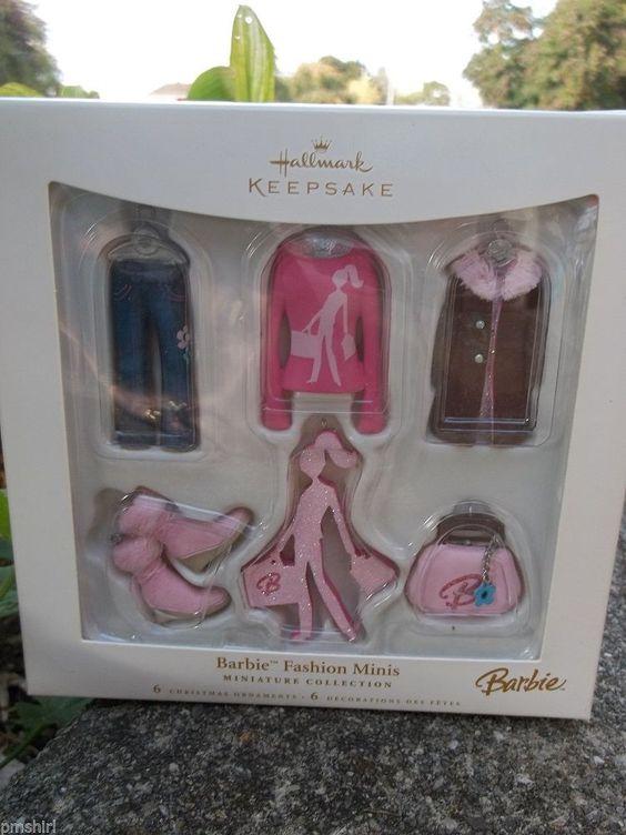 Hallmark Keepsake Ornament; Barbie Fashion Minis. 2006.