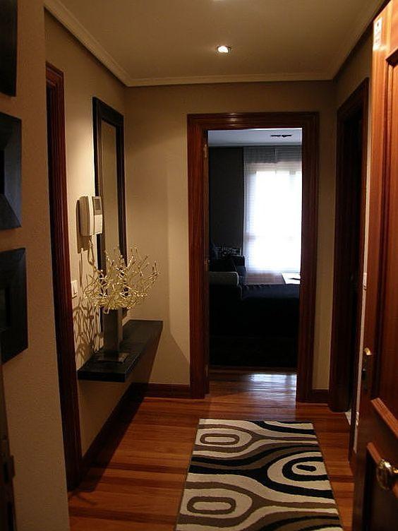 Pasadizos y pasillos de entradas de casas modernas - Alfombras para entrada de casa ...