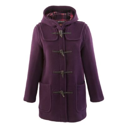 Gloverall Duffle Coat for Women in Purple | Duffle coats