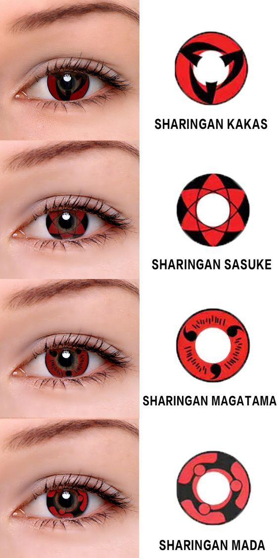 Sharingan Series Has Four Stylethey Are Kakas Sasuke