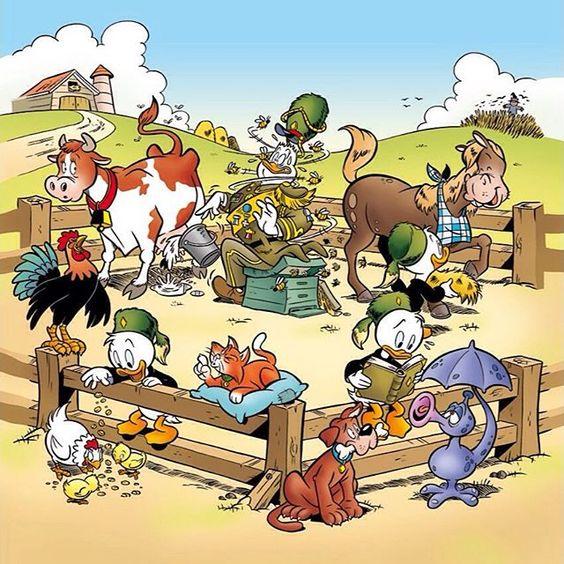 Het is #Dierendag! De Jonge Woudlopers trekken er vandaag op uit om de dieren in #Duckstad te verwennen! Doe je mee? #beestenboel…