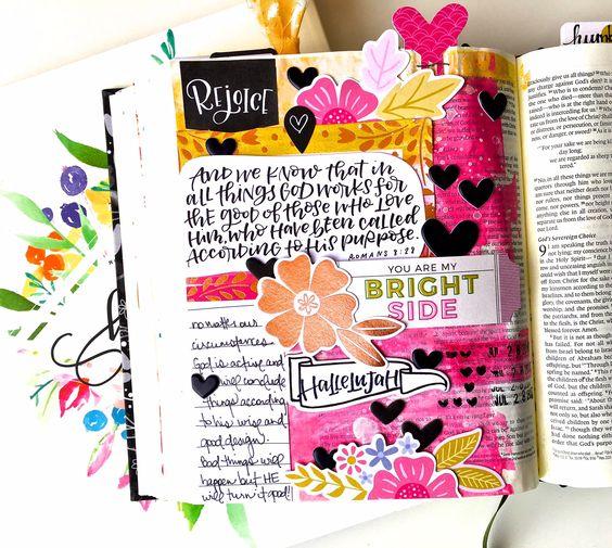 Bible Journaling Example