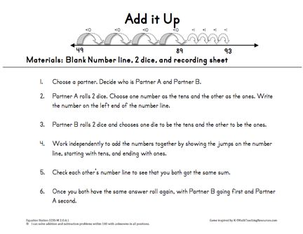 Common Worksheets » Subtraction Using A Number Line Worksheet ...