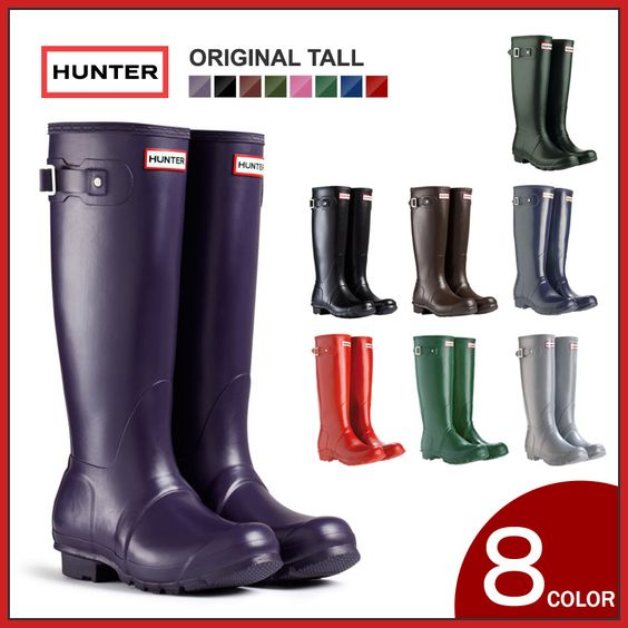 Hunter boots boots ladies long / Hunter hunter boots long shoes ...