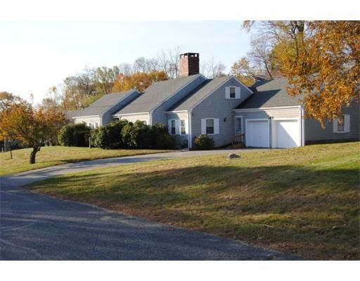 $495,000  THIS IS A HOUSE TO COME HOME TO! DESIRABLE BULRUSH FARM NEIGHBORHOOD. CHARMING, 7RM, CUSTOM CAPE WITH 3 BDRMS (1ST FL MASTR), 2 FULL BTHS, 0. 85 ACRE LOT, LEVEL BACK YRD, PATIO, ENCL PORCH AND MATURE PLANTINGS. LARGE KITCH, LIV, DIN RMS DESIGNED FOR ENTERTAINING, ARE THE HEART OF THE HOME. FIREPLCES IN KITCH, LIV ROOM, & BASEMNT. UPSTRS OFFICE. ONE LEVL LIVING AND/OR 2ND FL EXPANS. NEW SEPTIC SYSTM DESIGN IN PROCESS. WINNING INGREDIENTS AWAIT NEW OWNER'S VISION. NEAR COMMUTER TRAIN