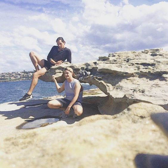 High by the beach (not really)  #bonditobronte #bondi #Monday #chills #sydney by aaronmw88 http://ift.tt/1KBxVYg