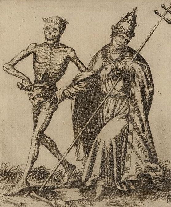 Matthäus Merian. Todten-Tantz, Basel's Dance of Death. 1649.