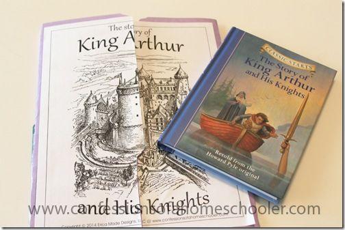King Arthur & His Knights Unit Study