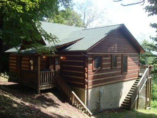 A walk in the clouds blue ridge mountain rentals boone for Cabin rentals near blowing rock nc