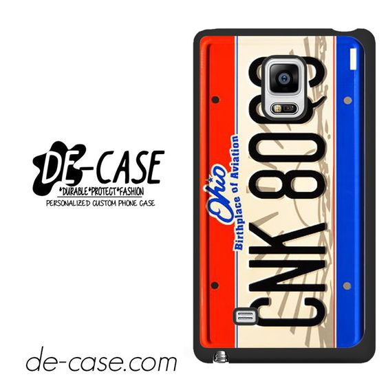 Number Plate For Samsung Galaxy Note Edge Case Phone Case Gift Present YO