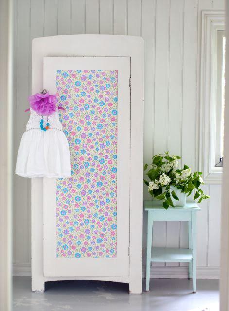Blog de decoração Perfeita Ordem: Repaginando o móvel com tecido ou contact