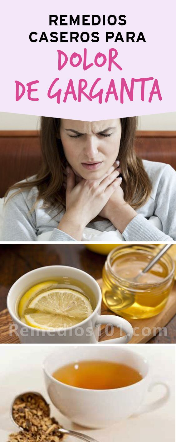 Dolor garganta se puede el de tomar q para