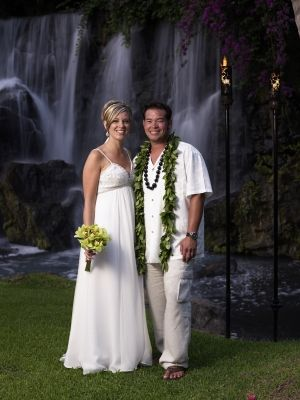 Jon and Kate Gosselin renew their wedding vows in Hawaii in 2008