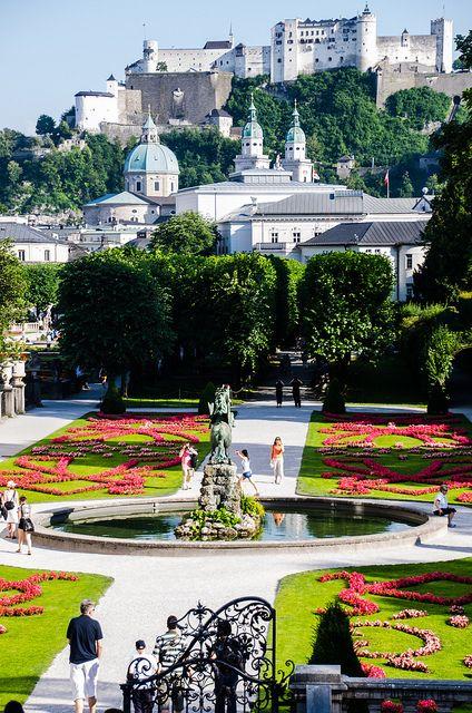 Mirabell Gardens, Ausztria