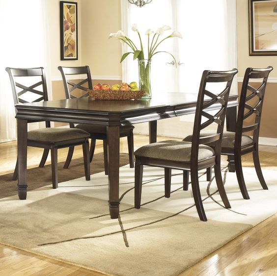 Hayley  Piece Dining Set by Ashley Furniture  For the Home