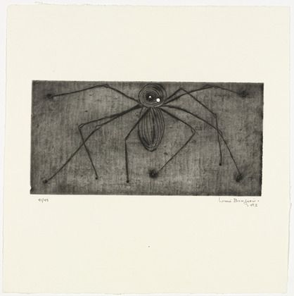 Louise Bourgeois. Untitled, plate 2 of 9, from the portfolio, Ode à ma mère. 1995