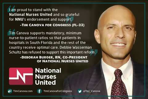 Vote Tim Canova!!!