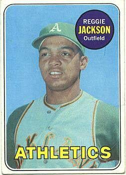 Reggie Jackson rookie card