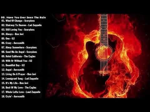 Rock Music 70s 80s 90s Nirvana R E M Scorpions Bon Jovi