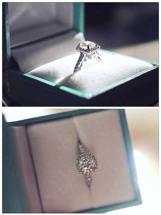 Who wouldn't want a Tiffany and co. For their engagement box?
