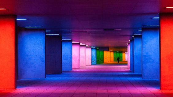 Tunnel of colors. by Pierre Bodilis on 500px