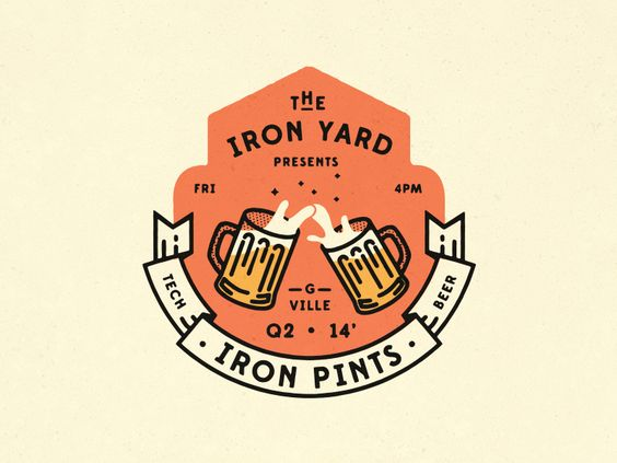 Every Friday afternoon part of the Iron Yard gang heads down to a local watering hole downtown to shoot darts, talk shop, and drink beer. If you're ever in the Greenville area on a Friday afternoon...