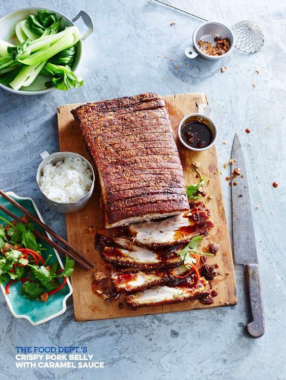 Roast pork belly sauce recipe