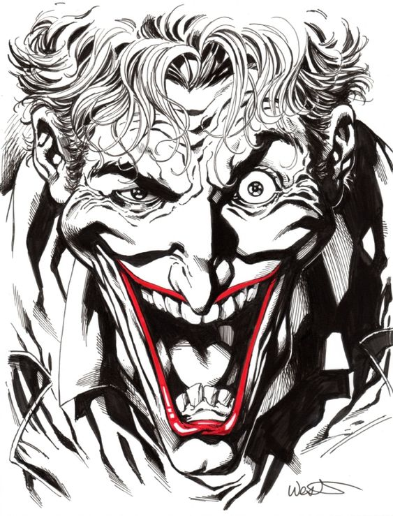 The Joker by Kevin West: