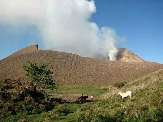 Volcán telica.