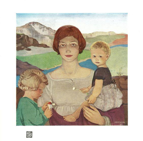 Cecile Walton scottish artist