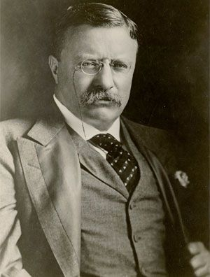 Theodore Roosevelt, the only U.S. president to have received the Medal of Honor