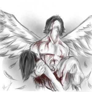 Every night, I feel the angels cry...