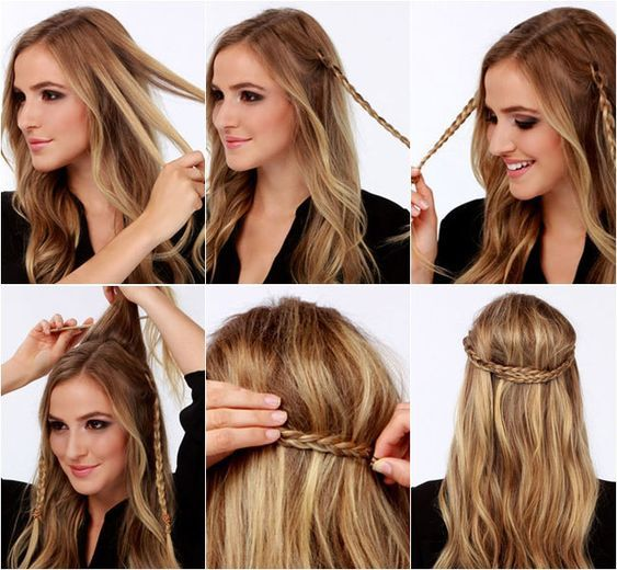 Diez Peinados Para Bodas Faciles Paso A Paso Peinado De Fiesta Cabello Corto Peinados Faciles Pelo Corto Peinados Pelo Corto