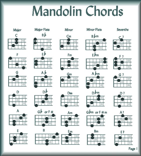 Mandolin 8 string mandolin chords : Pinterest • The world's catalog of ideas