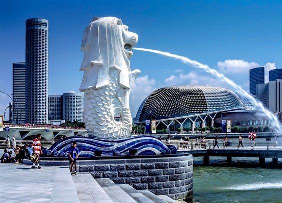 Sư tử - biểu trưng của đất nước Singapore