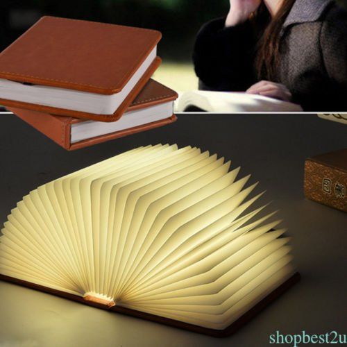 Nple Reading Book Led Night Light Rechargeable Foldable Table Lamp Usb Desk Booklight Book Lights Led Night Light Mini Books