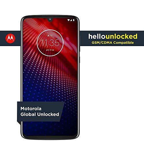 Moto Z4 C Unlocked C 128 Gb C Flash Gray Us Warranty