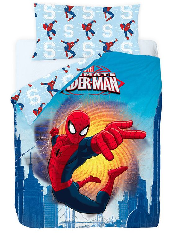Funda Nordica Spiderman Fire Gamanatura, con un divertido diseño en el que destaca el popular y mítico Spiderman, personaje de Marvel.