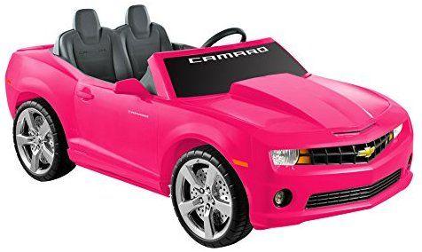 Amazon Com National Products 12 Chevrolet Camaro Ride On Pink Toys Games Camaro Chevrolet Camaro Red Sports Car