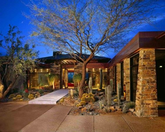 Desert Style  This form of design can be so beautiful and full of life. These designs require proper planning to ensure there success. The use of drought tolerant and native or adapted plants are crucial.: