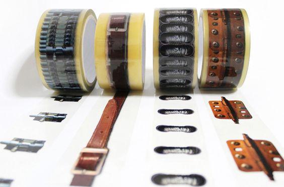 Que gran idea, desarrollada porHyoungmin Park y Jeongmin Lee para la marca japonesammiinn. Pueden compara cada rollo de cinta por aproximadamente $10 dólares.