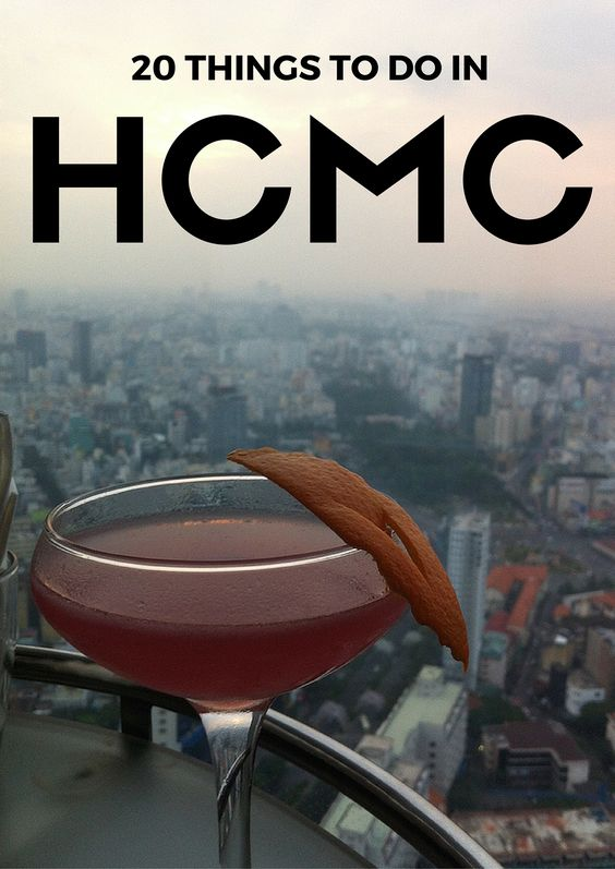 20 Things to Do in Ho Chi Minh City, also known as Saigon, will keep you on the go in this fast-paced city! HCMC.