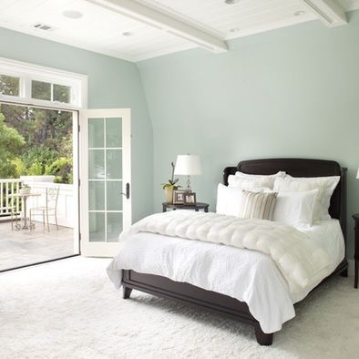 18 Charming & Calming Colors for Bedrooms | Woodlawn blue, Benjamin moore  and Blue master bedroom